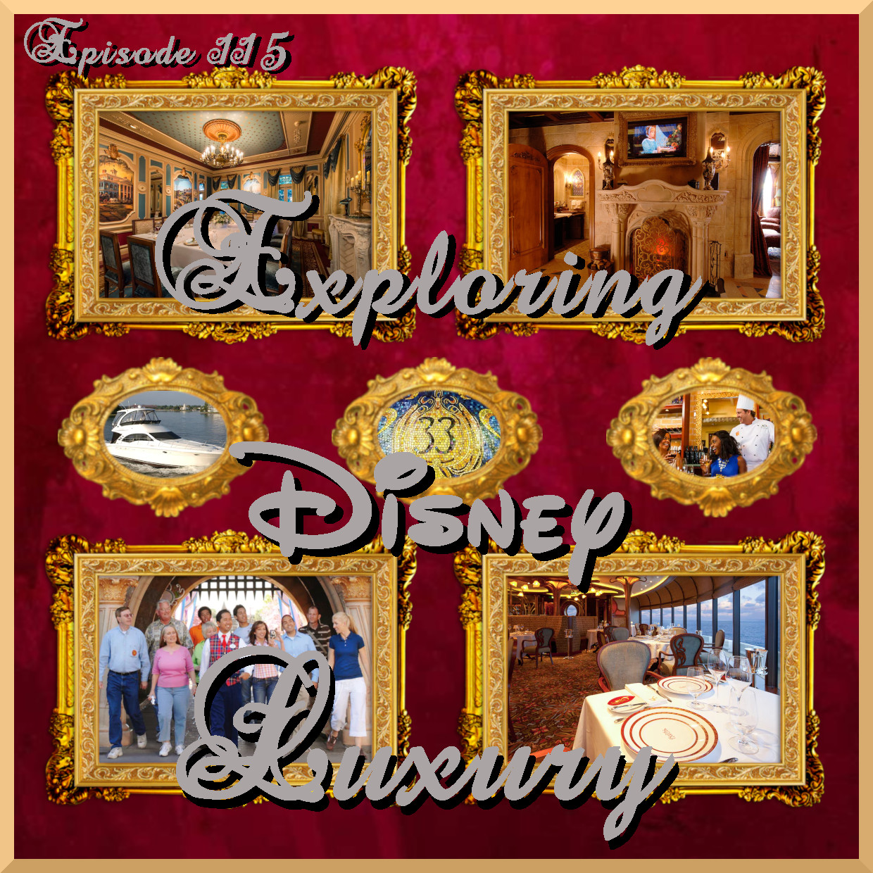 Disney Dream Sutie Dining Room - Exploring Disney Luxury
