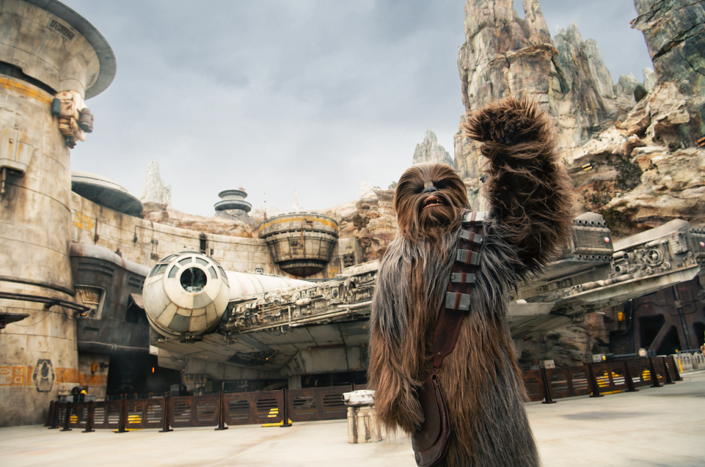 Chwbacca at Star Wars Galaxy's Edge - Ideas For Planning An Immersive Disney Vacation