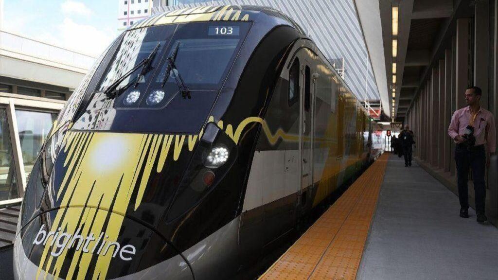Brightline Train - Florida - Our Donald Duck Appreciation Show