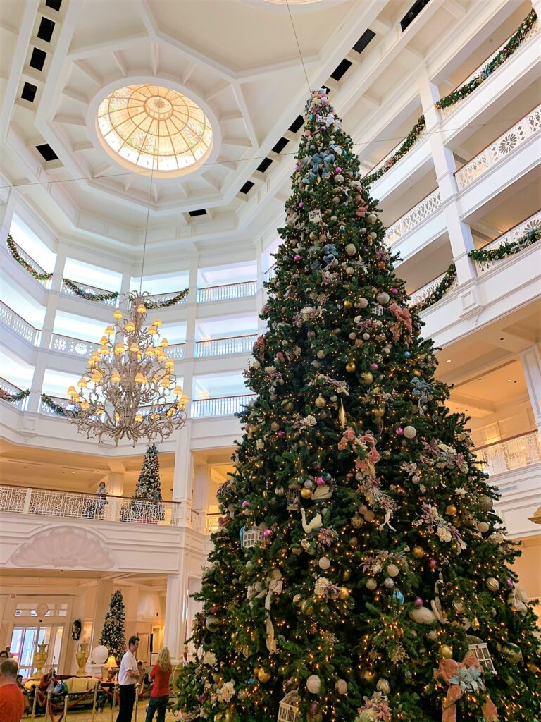 Disney's Grand Floridian Resort Christmas Tree - What Disney At The Holidays Means To Us