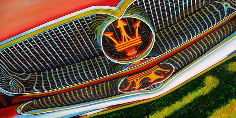 1956 Maserati Grille