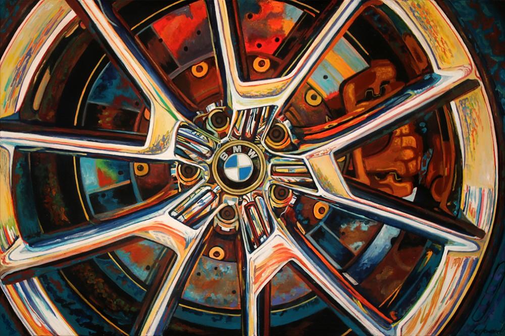 BMW at Villa d'Este