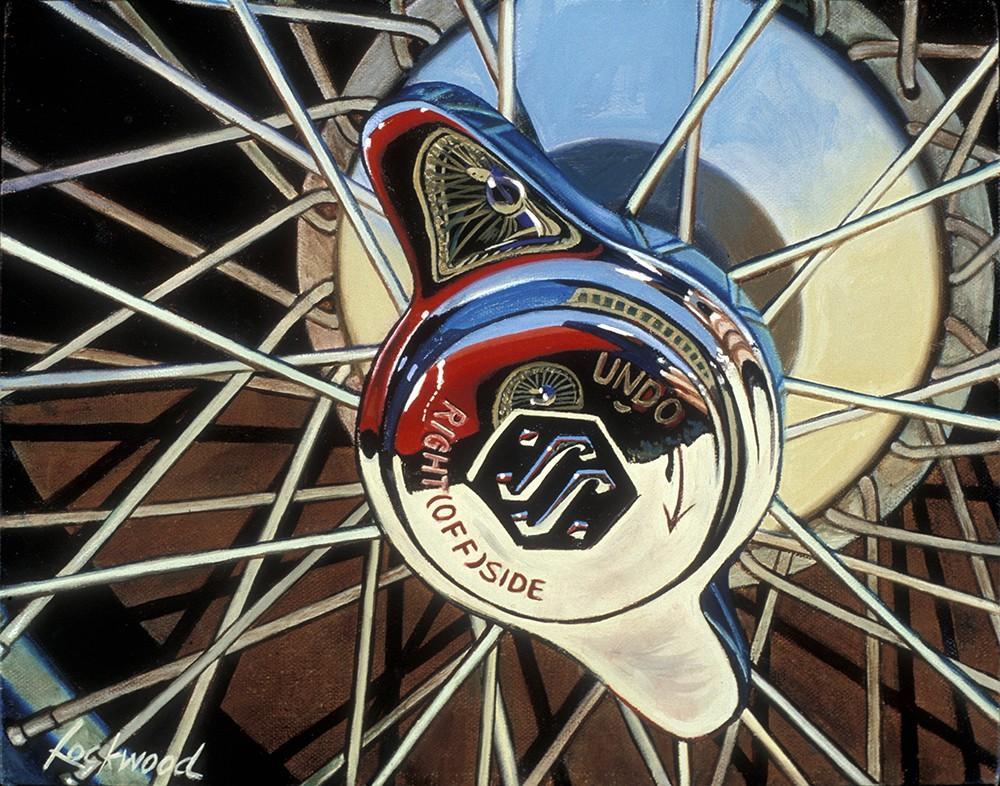 Jaguar SS Wheel