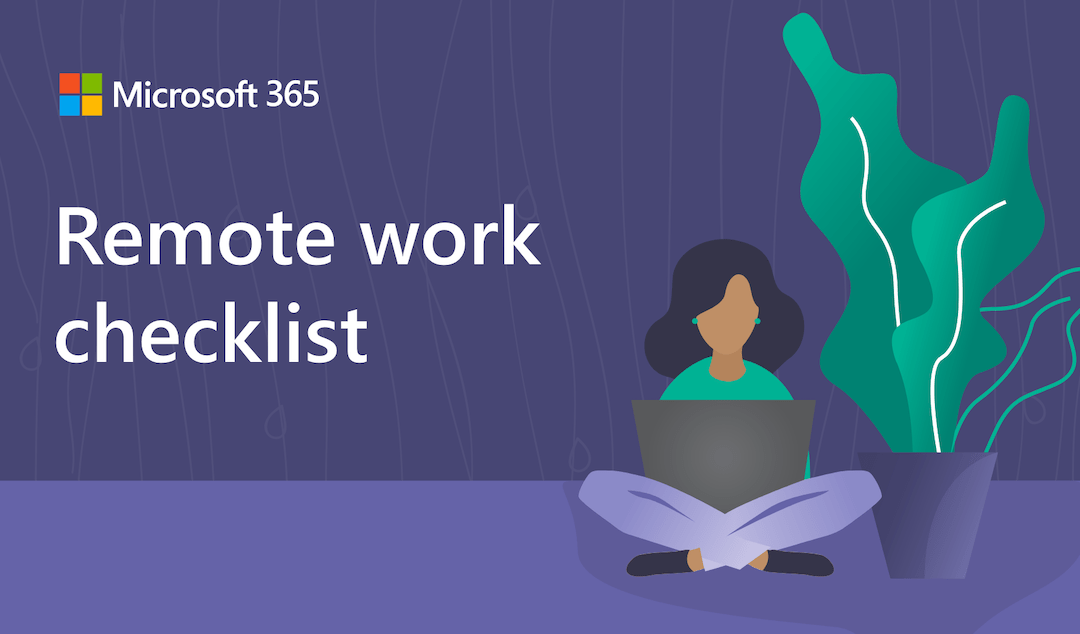 Remote working checklist