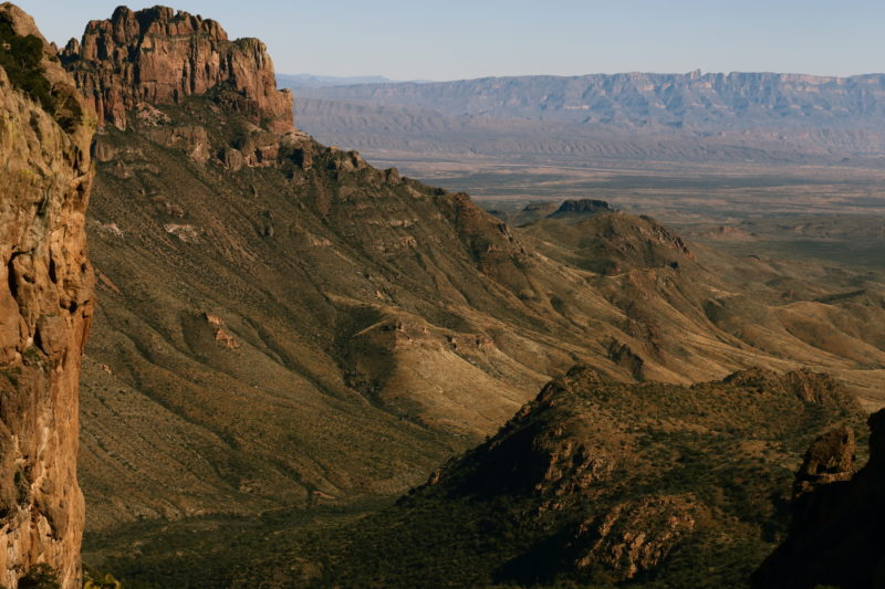 Big Bend National Park - View down Boot Canyon