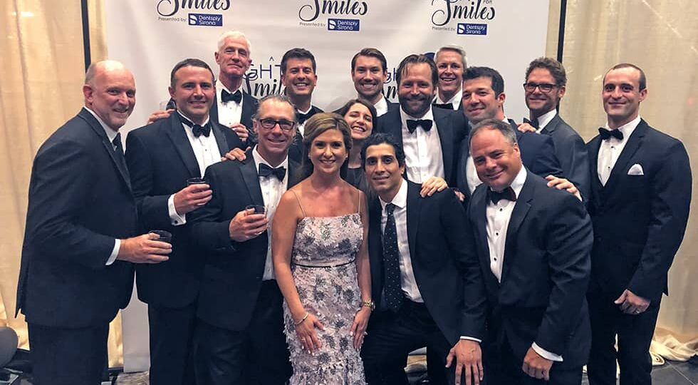 CCOFS team at A Night for Smiles Gala 2019
