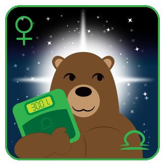 The Libra Bear