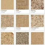 Shaw carpet samples (golds)