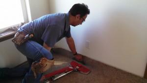 carpet installation in Parker image