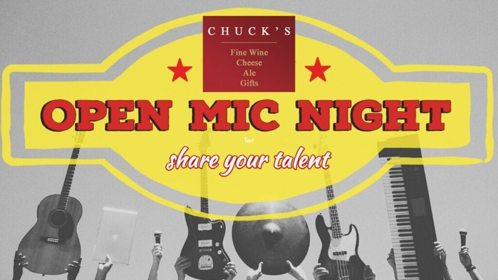 Open Mic Night at Chuck's