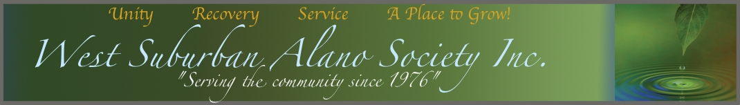 West Suburban Alano Society Inc.