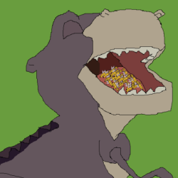 Chomper Eating Bees