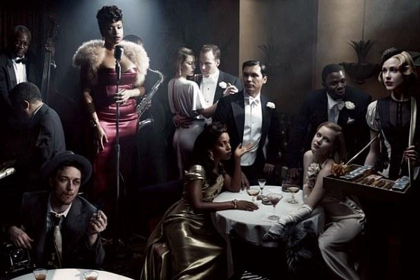 The Socitey Girl | Vanity Fair Photoshoot | 2007