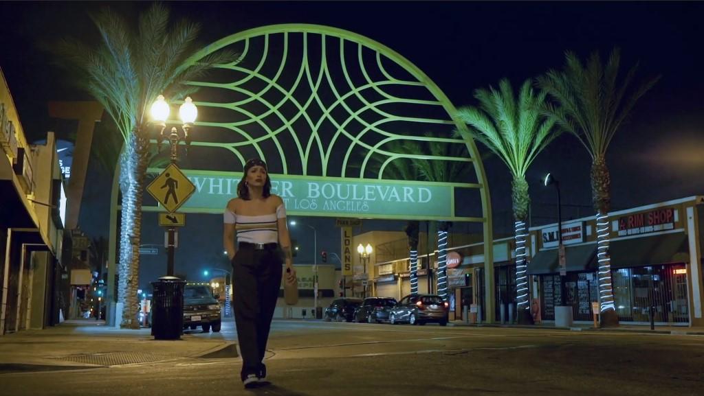 La Loca walking East LA