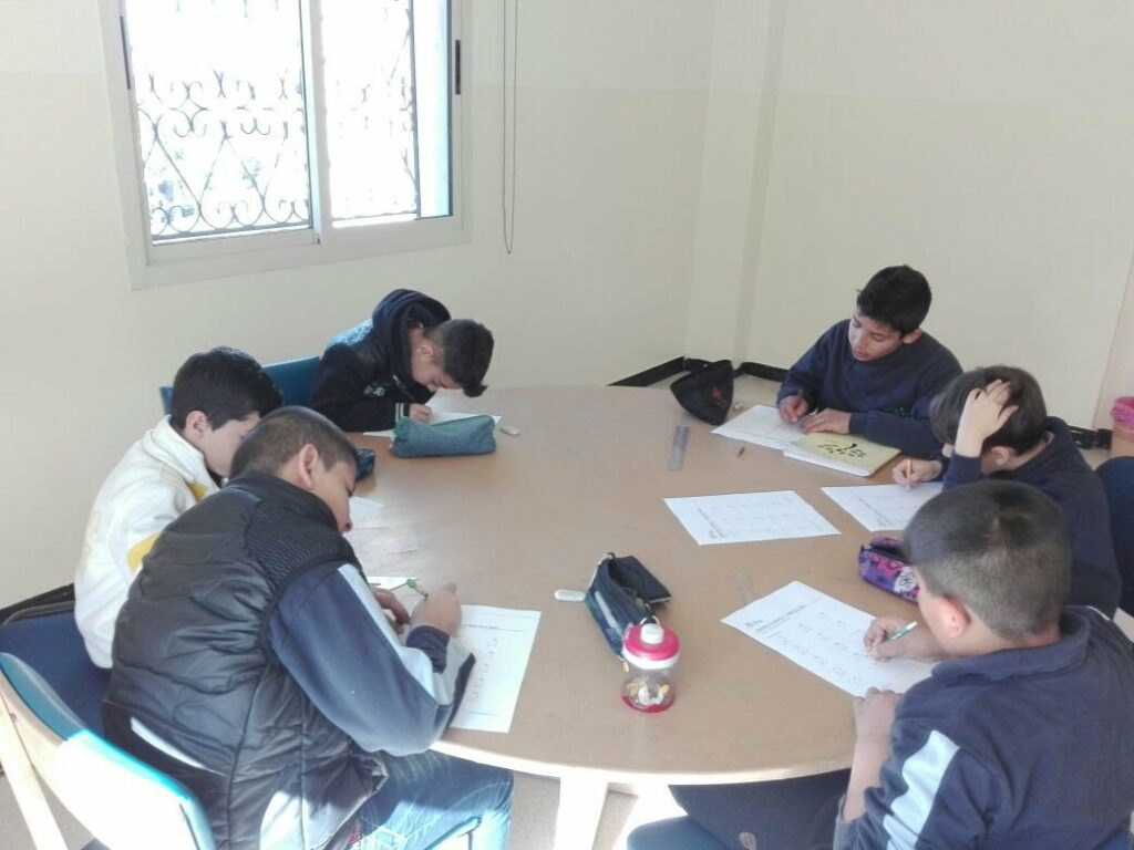 Students in Group Work