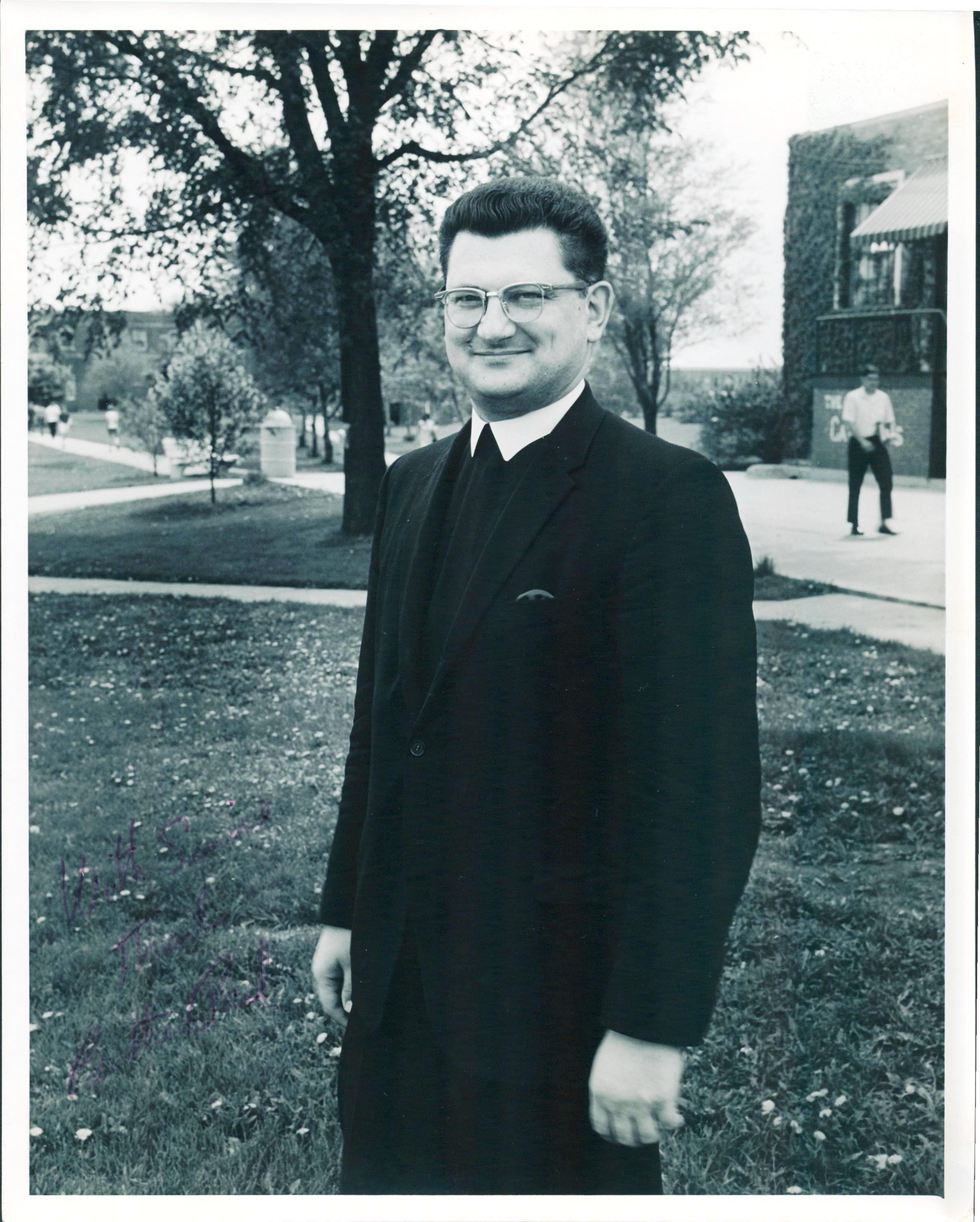 Br. Paul French, FSC, President Emeritus of Lewis University