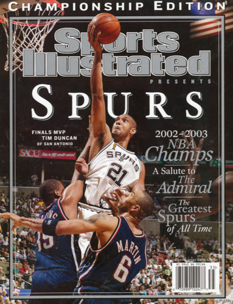 Tim Duncan leadership image
