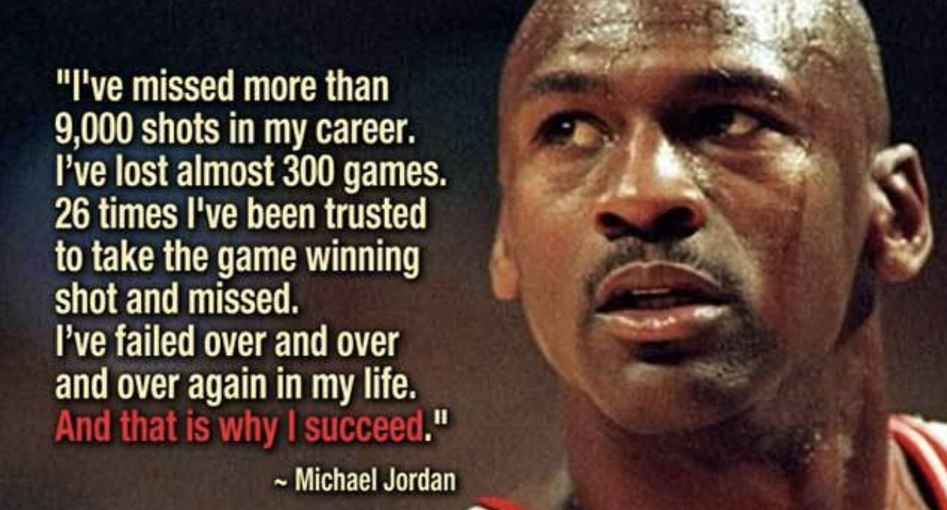 MJ Quote on Failure