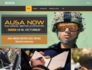 AUSA Now 2020 Annual Meeting & Exposition