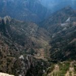 Heli view in copper canyon