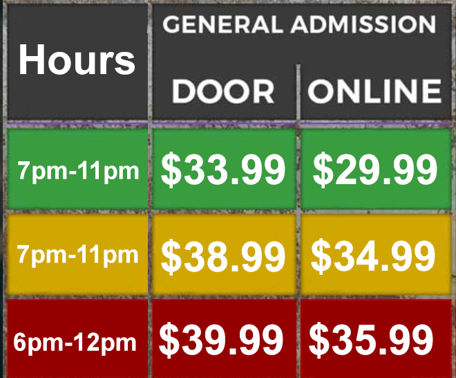 new pricing with hours no fast apass