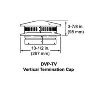 DVP-TV VERTICAL DIRECT VENT