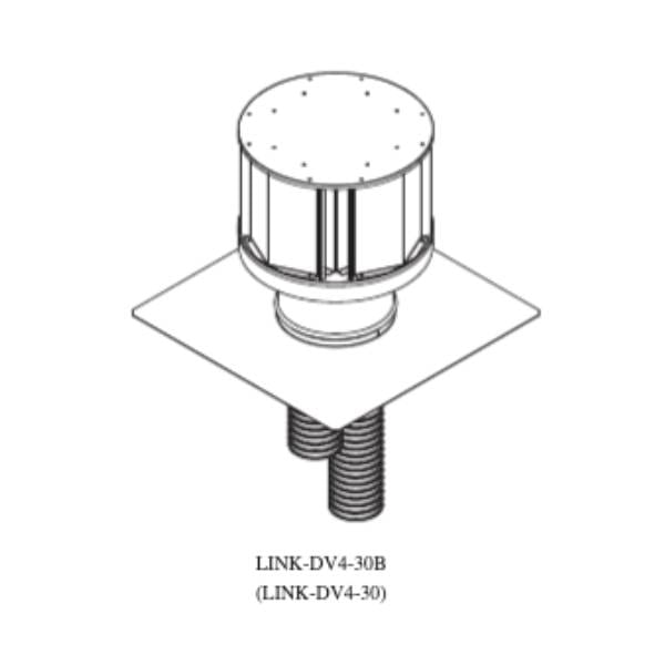 Link-dv4-30B Direct vent insert kit