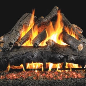 AMERICAN OAK Gas Logs for fireplaces