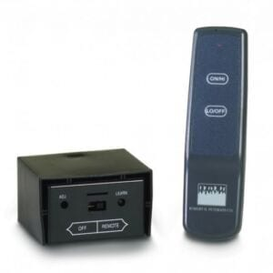 Deluxe variable flame height remote control for all -15 and -17 valves. Thermal control temperature display.