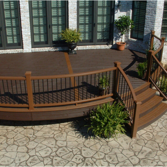 bedroom fabulous trek deck cost excellent simulated wood cost of outdoor deck - momspit