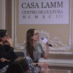Otilia Perichart y Catalina Medina