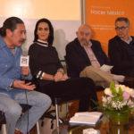 Héctor Castillo, Lydia Cacho, Mario Núñez y Mario Luis Fuentes