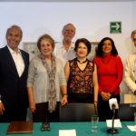 José Luis Gutiérrez Pérez, Graciela Orozco Moreno, Emilio Cárdenas Elorduy, Cecilia Ímaz Bayona,  Leticia Calderón Chelius y Gastón Melo