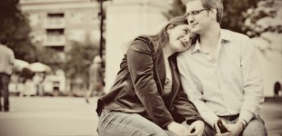 Camille + Adrian Engagement Session June 2011 NYC