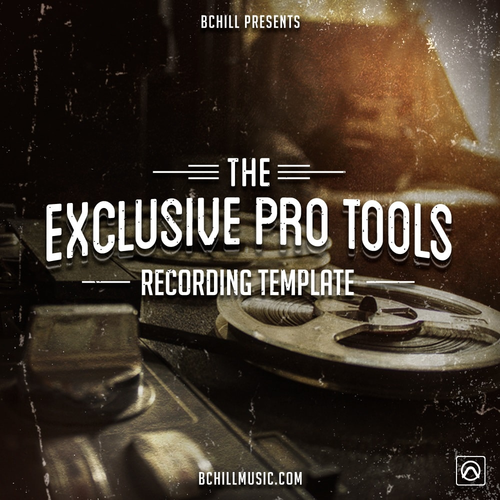 The Exclusive Pro Tools Recording Template (Waves Plugins) 2019