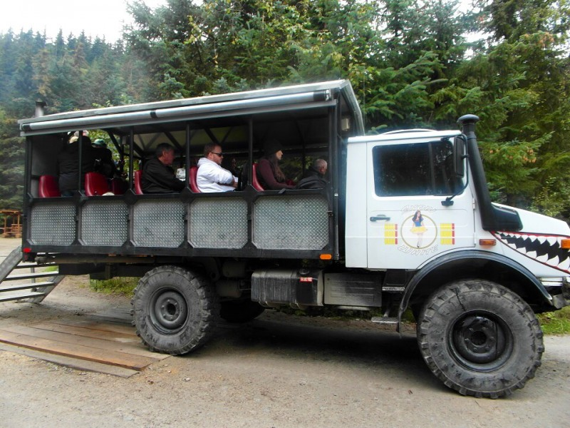 Unimog open-air all-terrain vehicle - Skagway Alaska