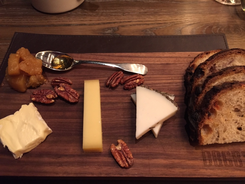 ARTISANAL CHEESES, chef's selection of three