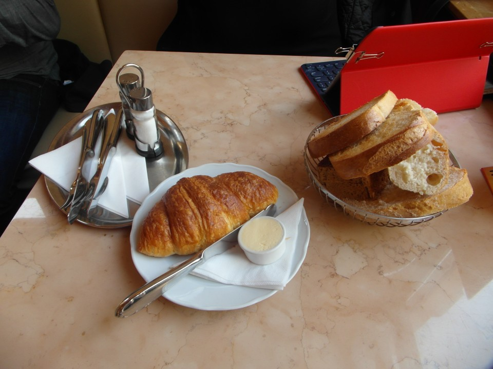 Freshly baked Croissants and Breads from the Savoy's Patisserie