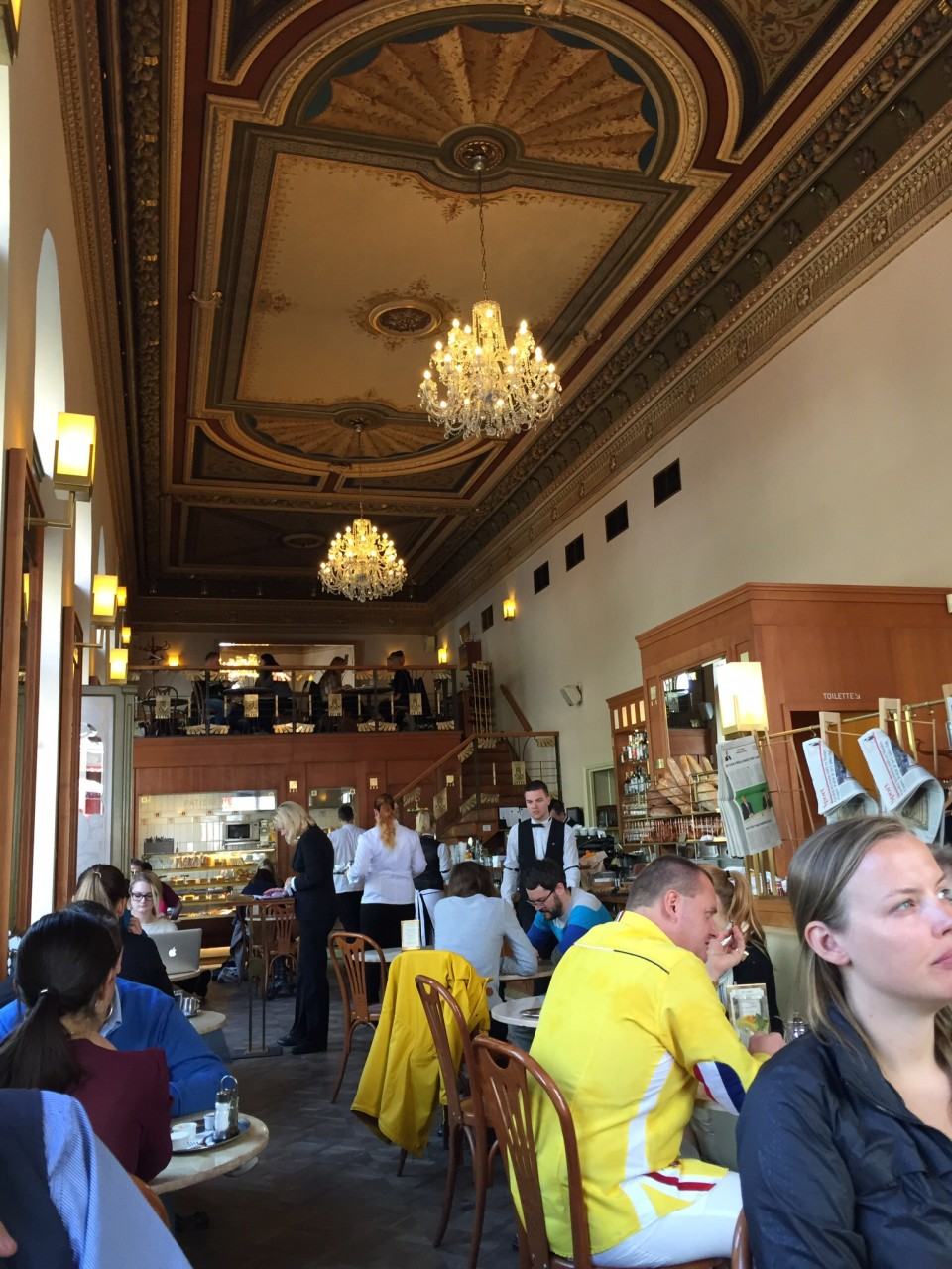 Cafe Savoy in Prague - the main room