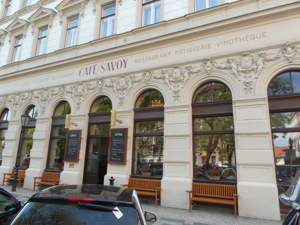 Cafe Savoy in Prague