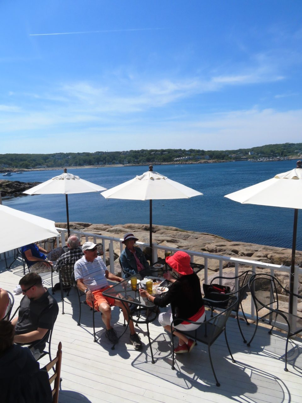 Emerson Inn by the Sea : lunch at My Place by the Sea in Rockport MA