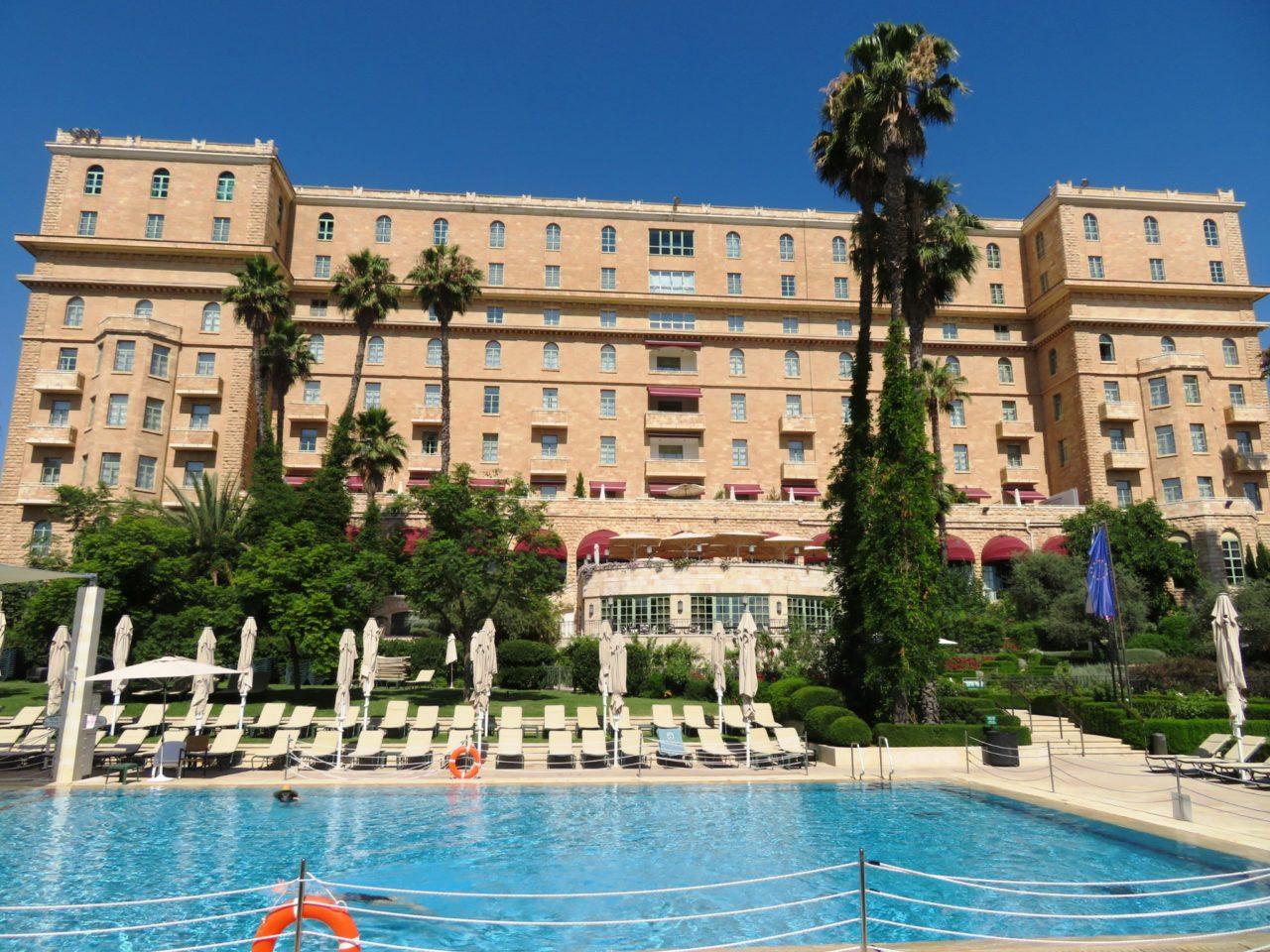 Vacationing in Israel ... The King David Hotel Jerusalem