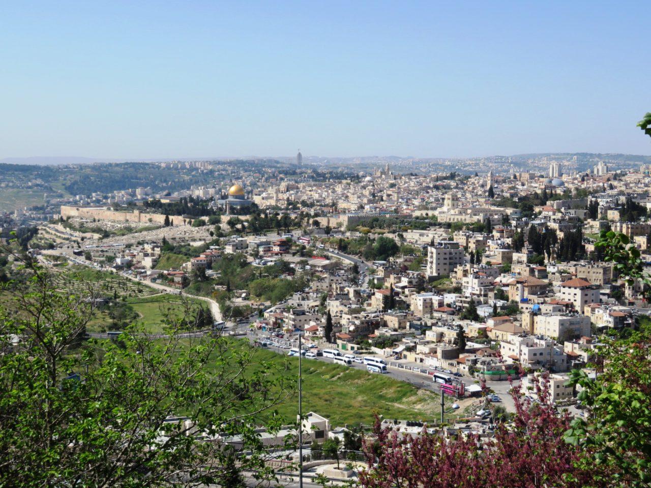 Vacationing in Israel ... Jerusalem