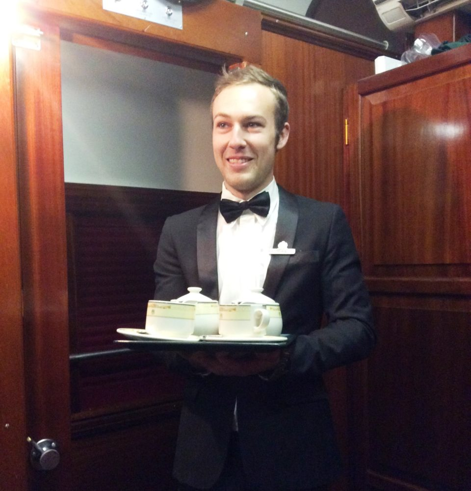 There's even room service aboard <strong>Rovos <em>Rail</em></strong> !