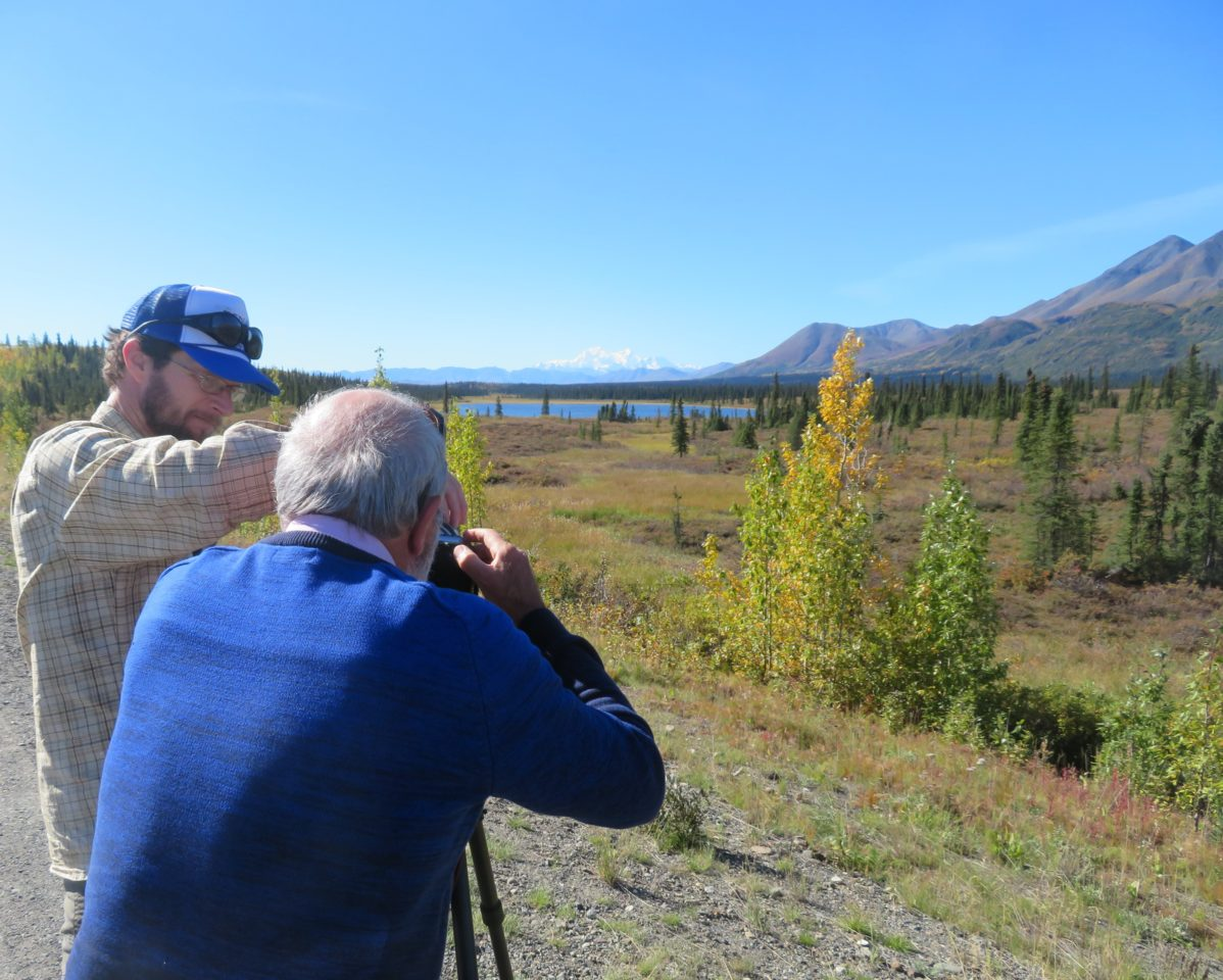 Landscape photography lession during our Alaska Cruise with Princess Cruises