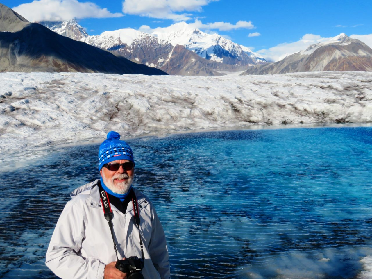 Glacier walk during our Alaska Cruise with Princess Cruises