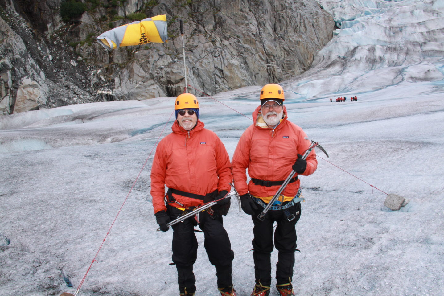 Glacier Trekking during our Alaska Cruise with Princess Cruises