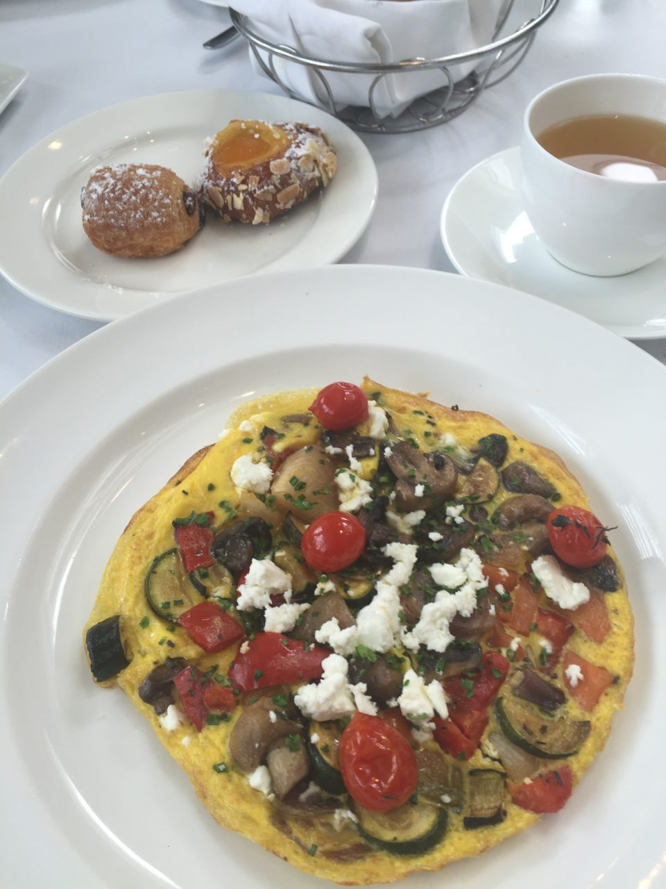 Breakfast at the Cape Grace Hotel