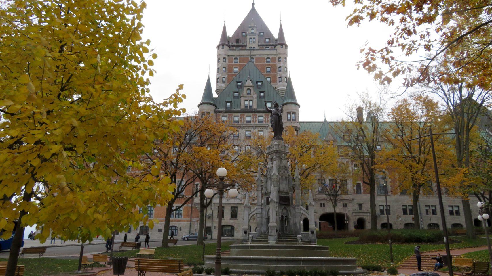 Fairmont Le Chateau Frontenac in Quebec City, Quebec, Canada