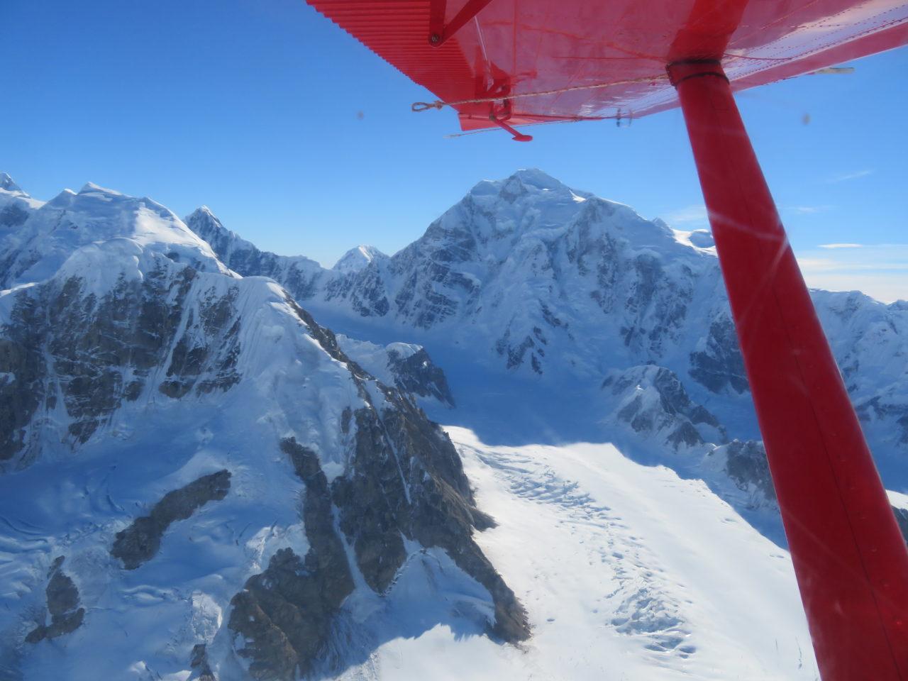 Flying around Denali ~ Alaska Cruise Tour